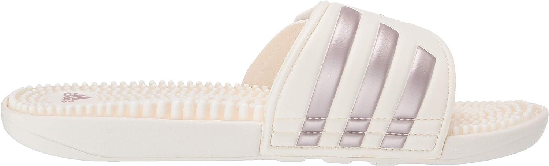 Adidas Adissage T-shirt pour femme Cloud White Vapour Grey Metallic Cloud White
