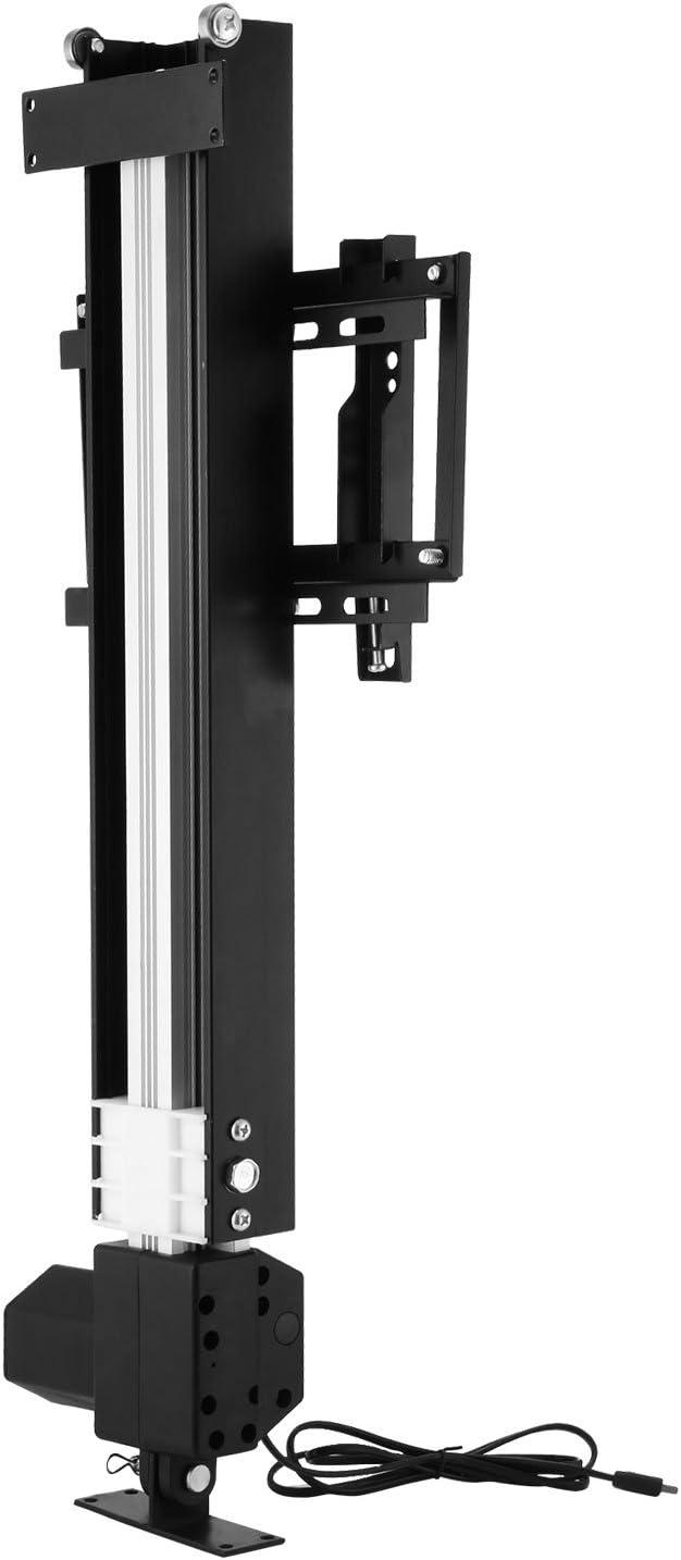 Autovictoria Televisor Ascensor Soporte de TV automático Apto para televisores de 28-32 pulgadas Soporte de soporte Soporte de TV de 220 v AC con estante para uso doméstico Soporte de TV Soporte