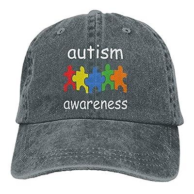Eveler Sports Denim Cap Autism Awareness Men Women Snapback Caps Adjustable Dad Hat