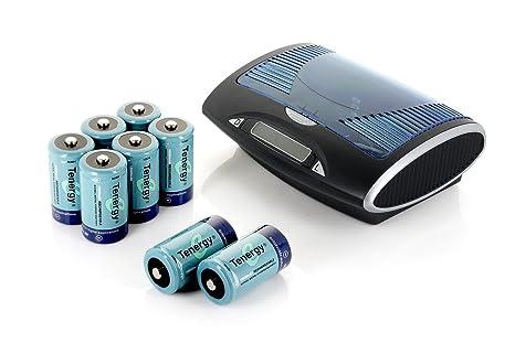 Amazon.com: Tenergy t9688 Universal LCD Cargador de batería ...