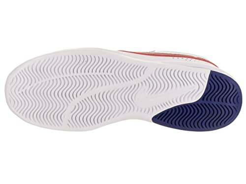 Nike Men's SB Air Max Bruin Vapor WhiteGym Red Game Royal Skate Shoe 10.5 Men US