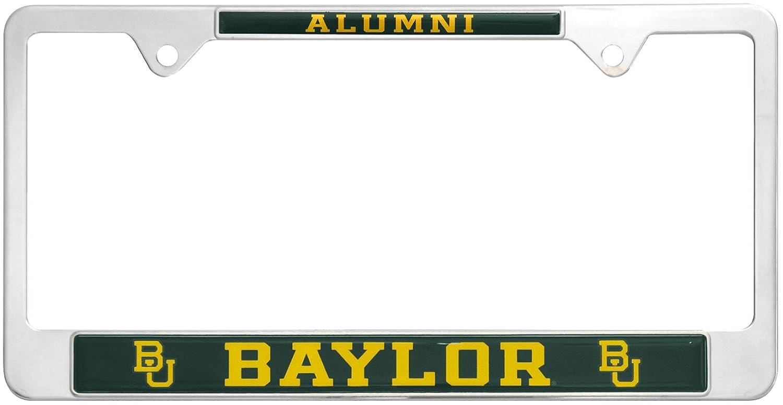 AMG Auto Emblems All Metal NCAA Alumni License Plate Frame /… Ohio State