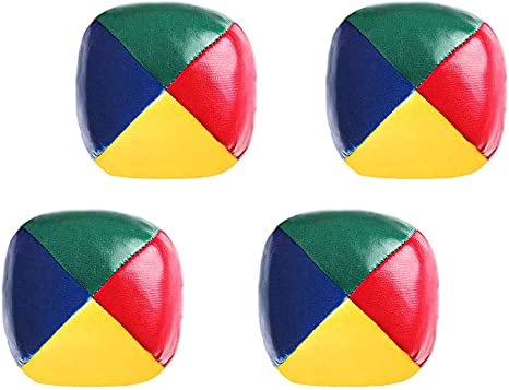 N A Bolas De Malabares De Circo Payaso Juego Pu Juguete Ball 4 Piezas Multicolor Sports Outdoors