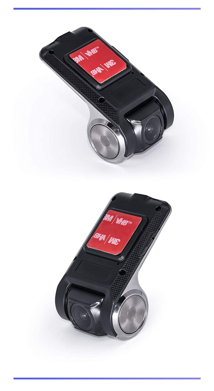 JOYFORWA 720P Auto DVR USB Armaturenbrett-Kamera Frontkamera Video Recorder f/ür Android im Armaturenbrett GPS Navigation Auto-Stereosystem