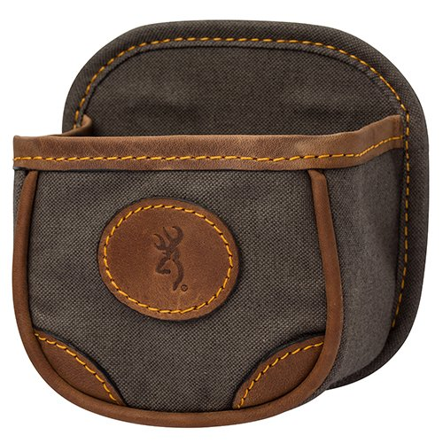 Browning, Lona, Canvas/Leather Shell Box Carrier, Flint