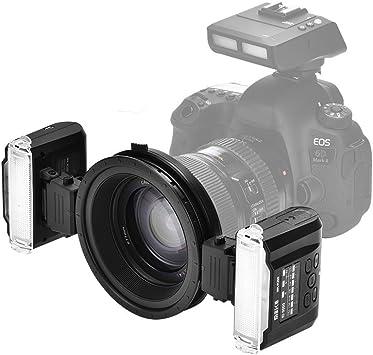 Oumij Meike MK-MT24 Flash Speedlite con Disparador Inalámbrico 2.4 ...