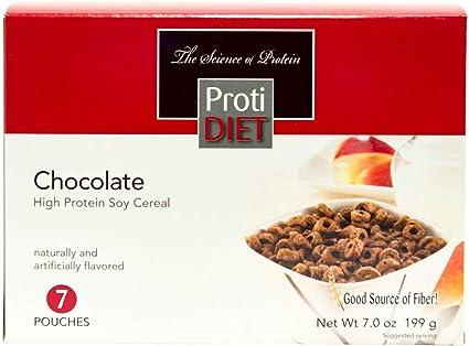 Amazon.com: protidiet Alto Chocolate de proteínas de soja ...