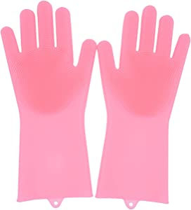 Free Liveda Music Silicone Gloves with Scrubber