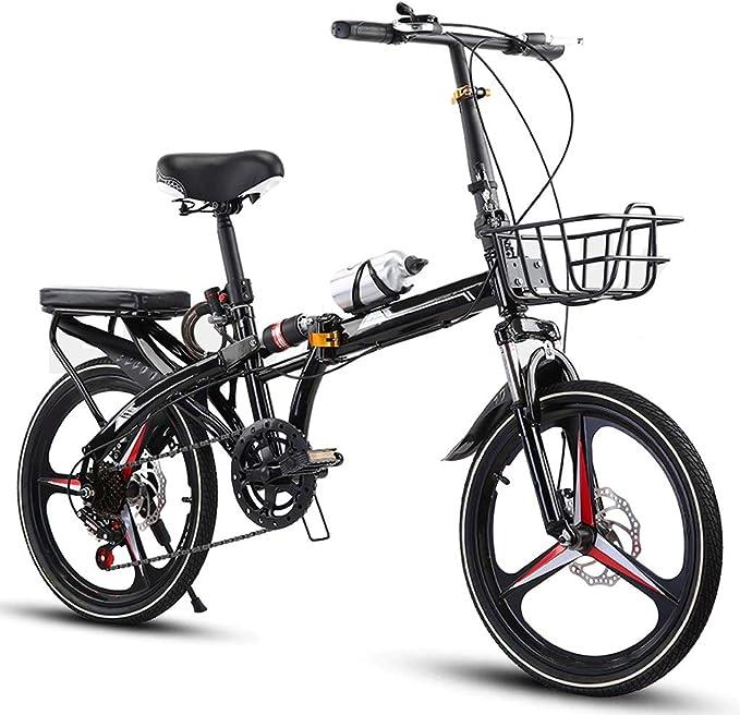 20/16 Pulgadas Bicicleta Plegable Bicicletas for Adultos Hombres Y ...