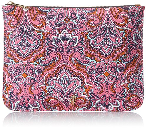 Juicy Couture Pouch Cosmetic Case,Deco Paisley,One Size (Juicy Couture Makeup Bags)