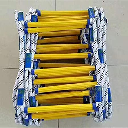 LJNAB Escaleras de Rescate de Emergencia Escalera de Escape a Prueba de Fuego Suave Escala de Seguridad contra Incendios portátil y Reutilizable, b, 30m,c,25m: Amazon.es: Hogar