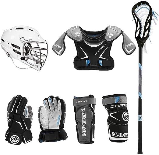 Lacrosse Unlimited Maverik Charger EKG Youth Starter Set - Best For Practice