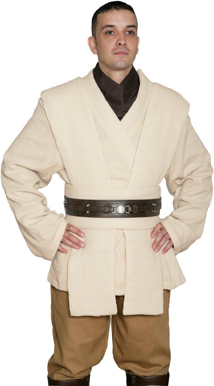 Jedi-Robe Star Wars OBI-WAN Kenobi Disfraz - Túnica Set - Réplica ...