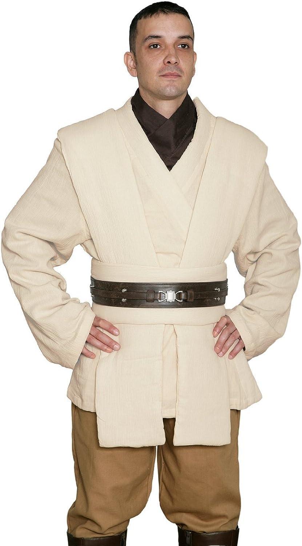 Jedi,Robe , Men\u0027s Costume Tunic Set , Compatible with OBI Wan Kenobi Star  Wars Costumes