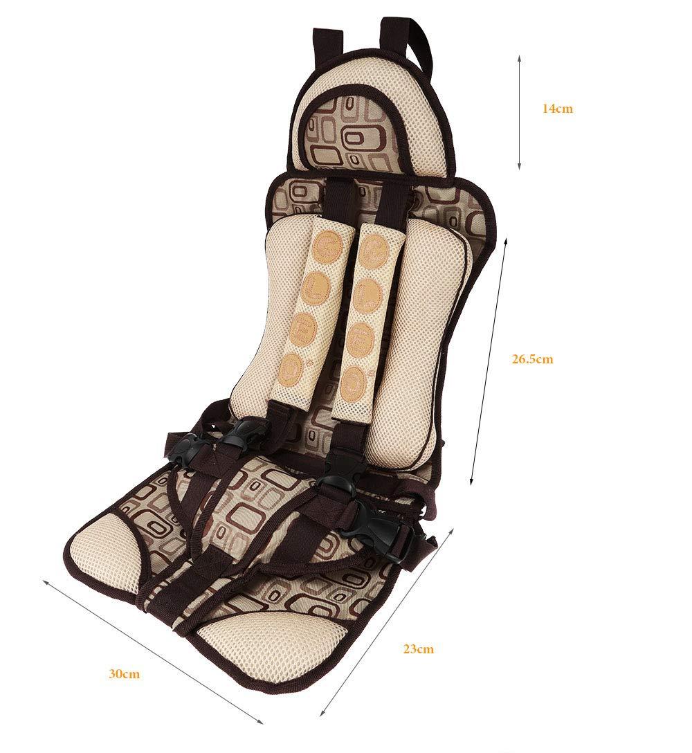 Amazon.com: Cojín de seguridad para asiento de coche, para ...