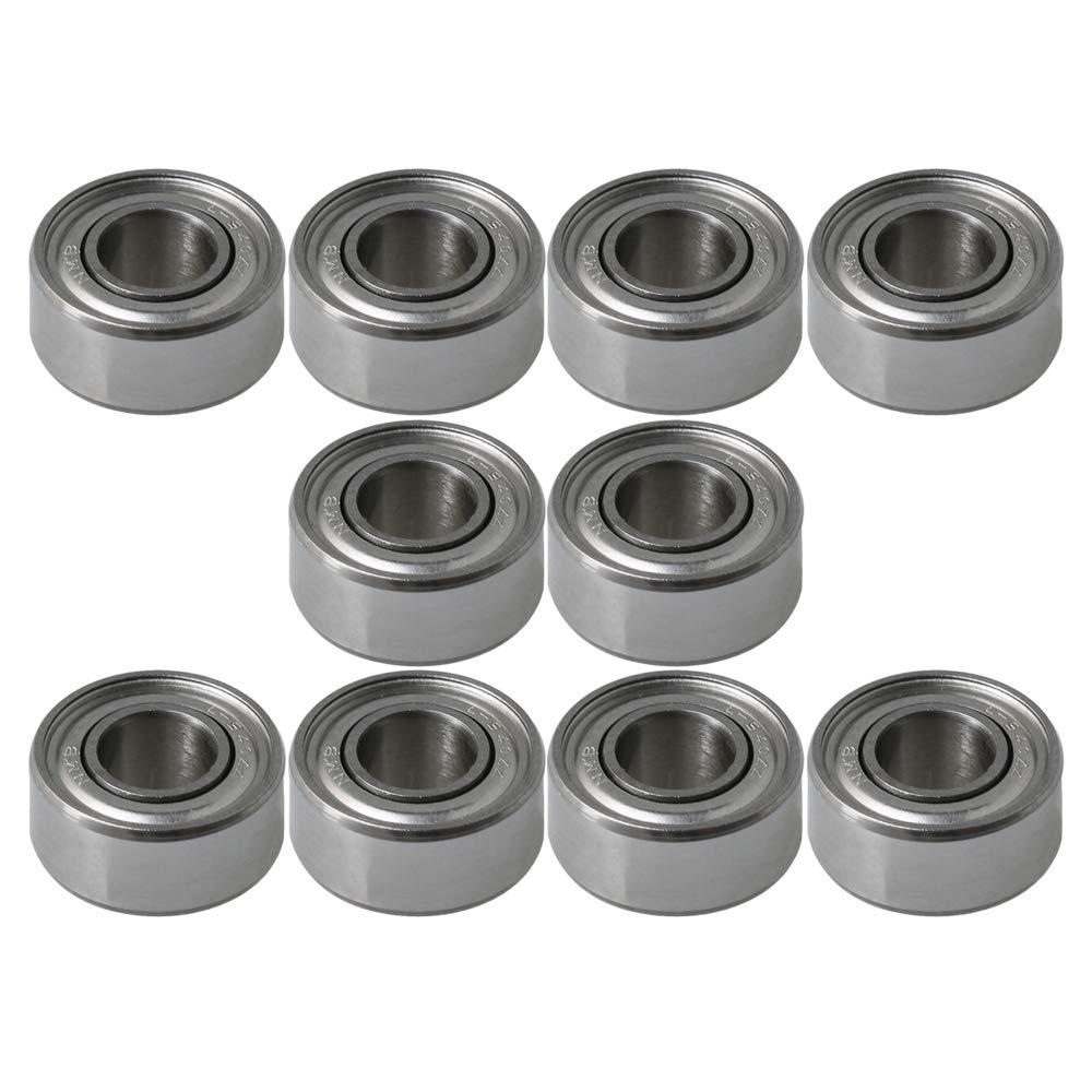 Lot de 10 mini roulements /à billes miniatures 4 x 9 x 4 mm