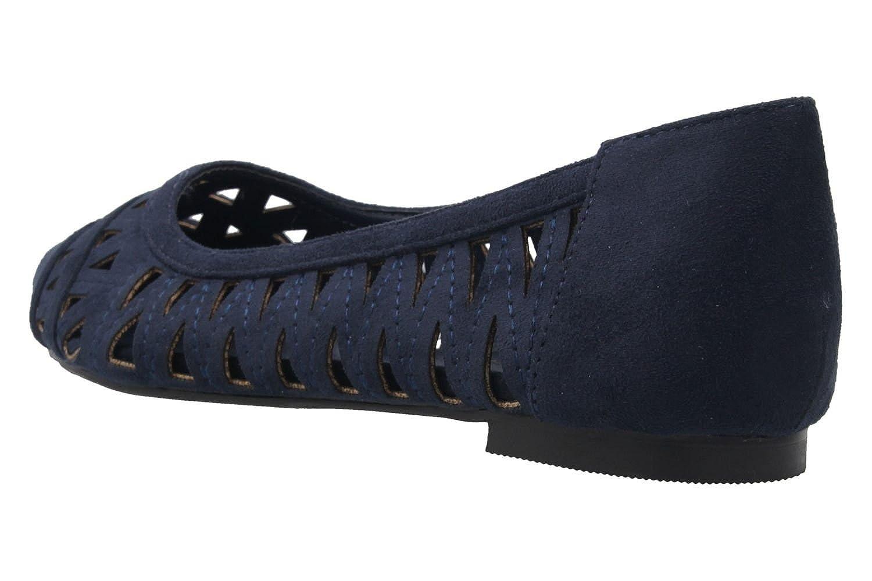 Andres Machado - Damen in Ballerinas - Blau Schuhe in Damen Übergrößen - a6e230