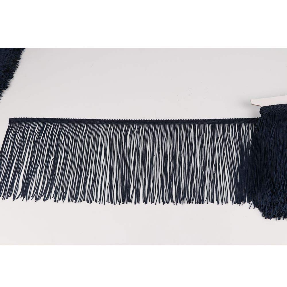 Army Green Heartwish268 Fringe Trim Lace Polyerter Fibre Tassel 6inch Wide 10 Yards Long for Clothes Accessories Latin Wedding Dress DIY Lamp Shade Decoration Black White Red