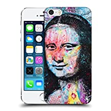 Official Dean Russo Mona Lisa Iconic 2 Hard Back Case for Apple iPhone 5 / 5s / SE