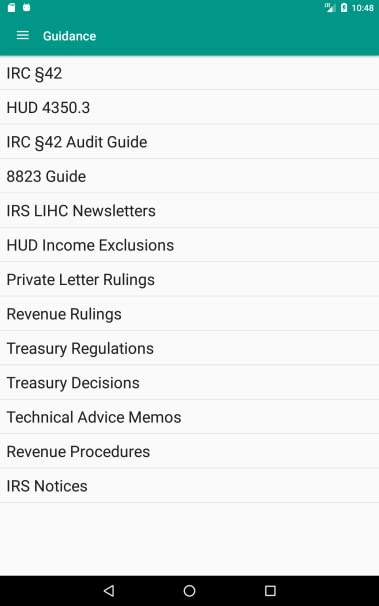 Housing credit reference guide — ncsha.