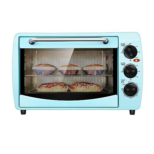 Mini uso doméstico del horno eléctrico, control de la temperatura ...