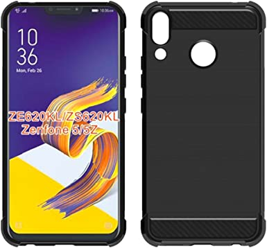ASUS Zenfone 5z ZS620KLCase, Mustaner Shock-Absorption Flexible TPU Rubber Soft Silicone Full-Body Protective Cover for ASUS 5 ZE620KL6.2 Inch: Amazon.es: Electrónica