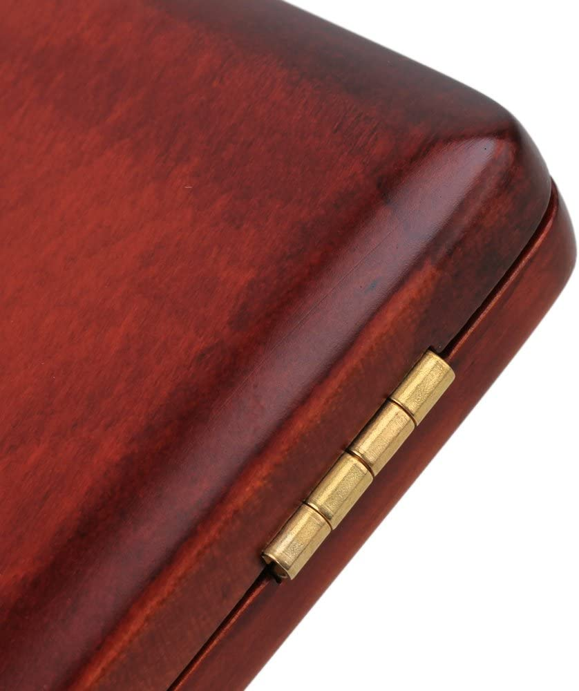 Wooden Oboe Reed Case Storage Reed Holder Storage Box for 6pcs Reeds