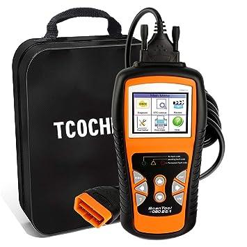 TCOCHE 4.7 LCD OBD2 Escáner, OBDII Professional Car Auto Diagnostic Lector de Código de