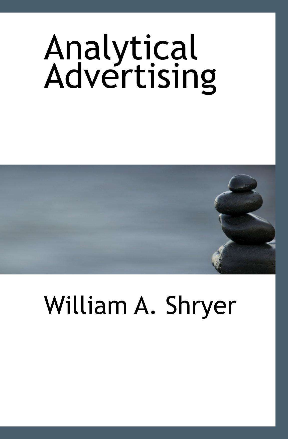 Download Analytical Advertising ebook