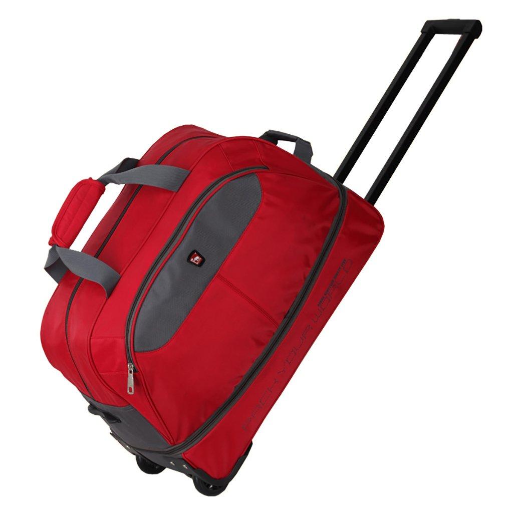 スーツケース トロリーケース2輪出張旅行外出トロリーバッグ大容量ライトトラベルバッグトラベルバッグドラッグバッグハンドバッグトランク旅客ボックスバックパック (色 : A)   B07FNC28YQ