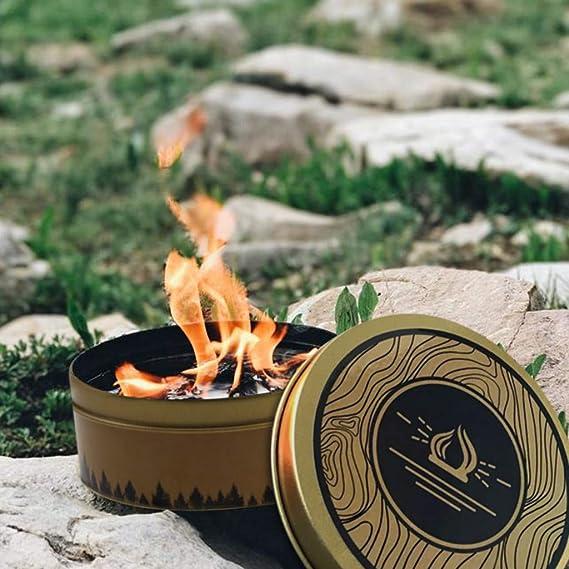 Amaping fogata portátil y reutilizable para camping al aire libre ...