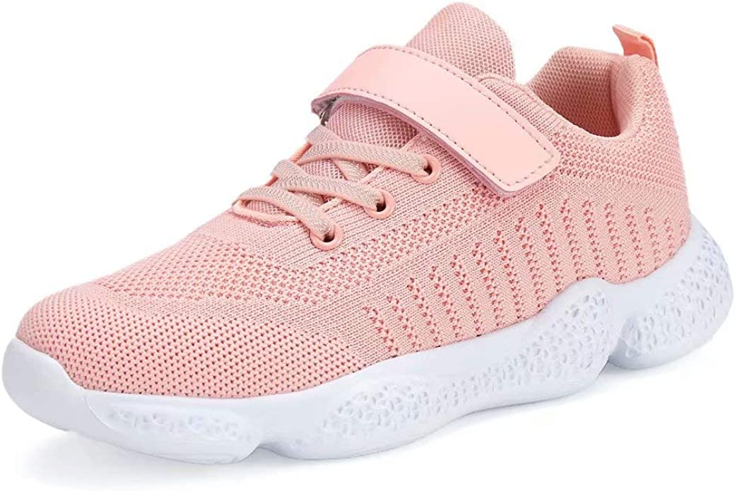 SOVIKER Kids Running Sneakers Tennis Shoes Lightweight Breathable/Athletic Shoes/for Boys and Girls