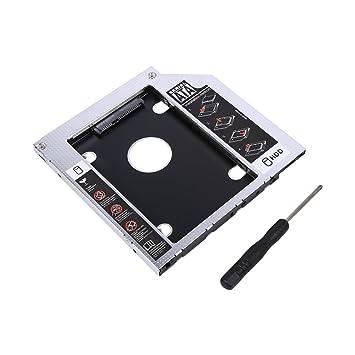 Retteec 2º HDD SSD DVD Bay Caddy Adaptador, Disco Duro Caddy Tray ...