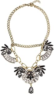 Just Showoff Women's Alloy Fan Necklace