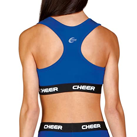61f0f38adc2a8 Amazon.com  C-Prime Cheer Sports Bra - Youth Girls Sizes  Clothing