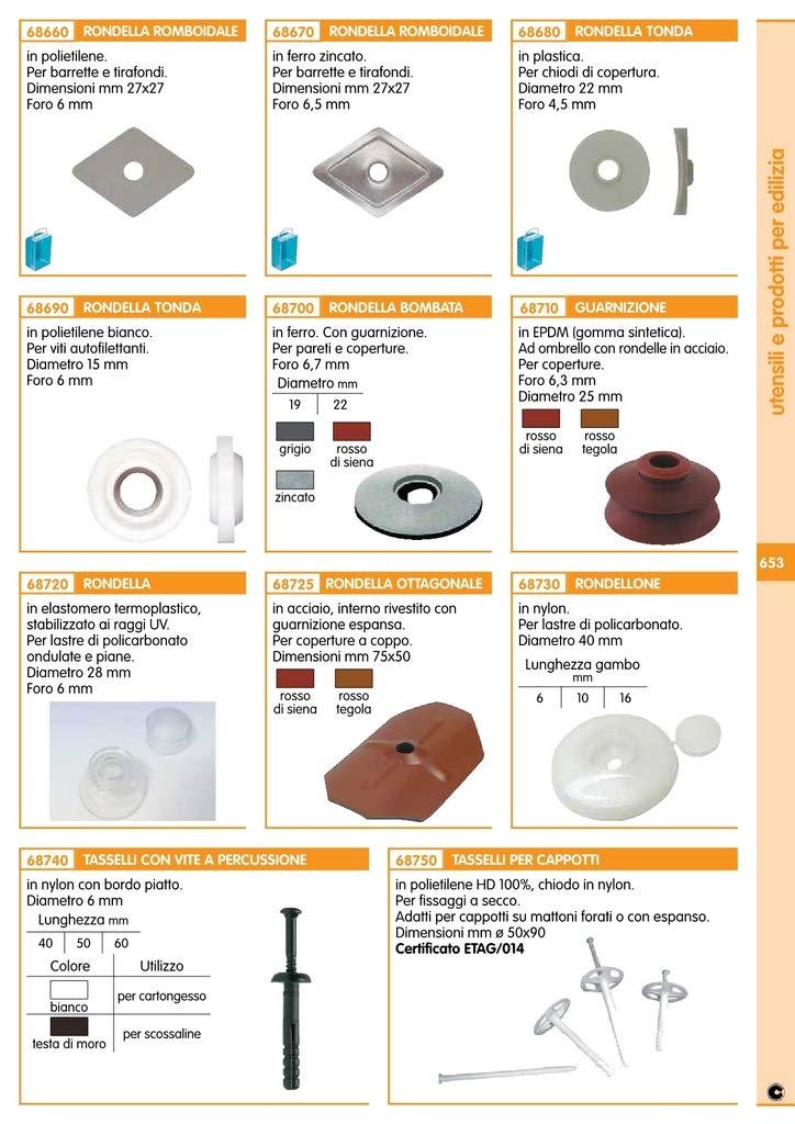 RONDELLA PLASTICA TONDA ART.353//27022000* Cartomatica Confezione da 200PZ