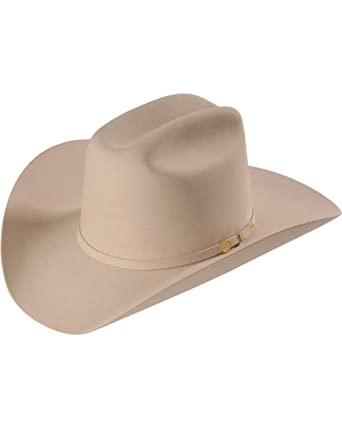 Stetson Men s 100X El Presidente Fur Felt Western Hat Silverbelly 6 ... cc43b737f78