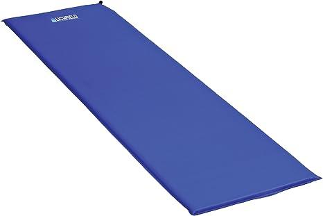 Lichfield SMMSIMAT Estera Auto-Hinchable para Acampar 180 x 51 x 3 cm Azul Unisex Scuba Blue