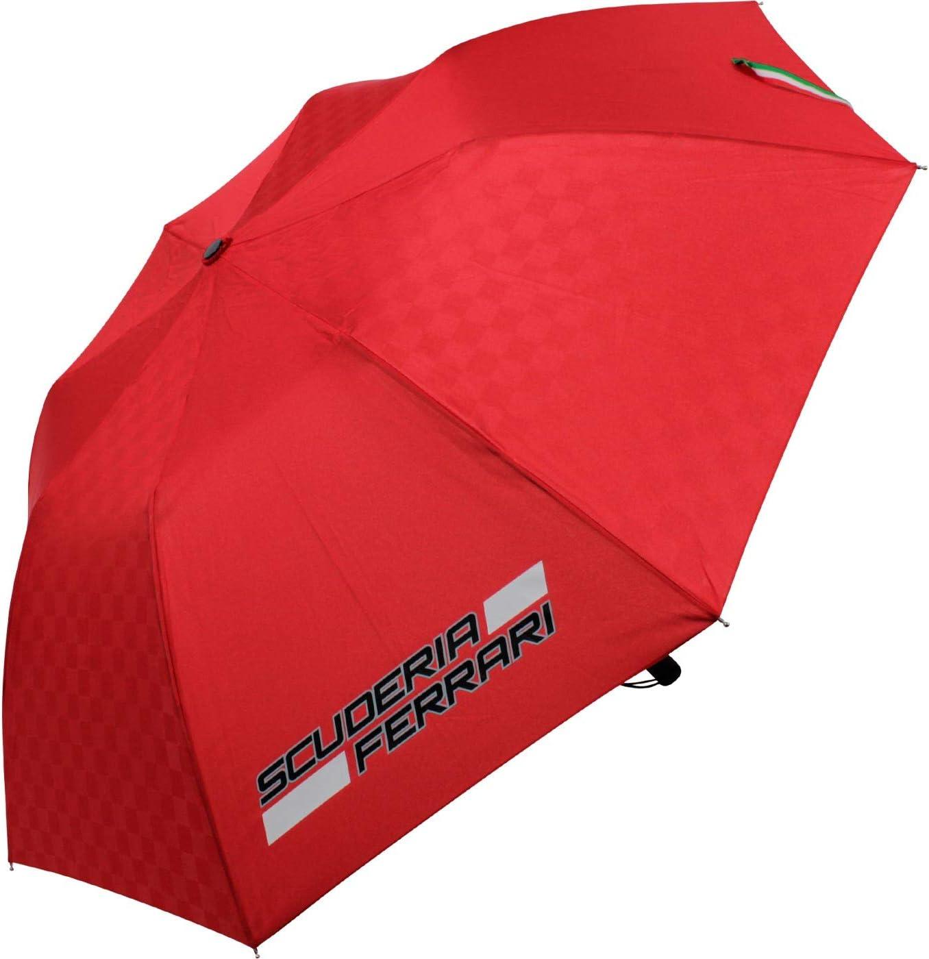 Scuderia Ferrari Paraguas Compacto Rojo: Amazon.es: Deportes y ...