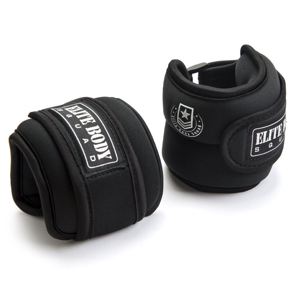 Pesos de tobillo ajustables Elite Body Squad Pro (2 de 1 kg ...