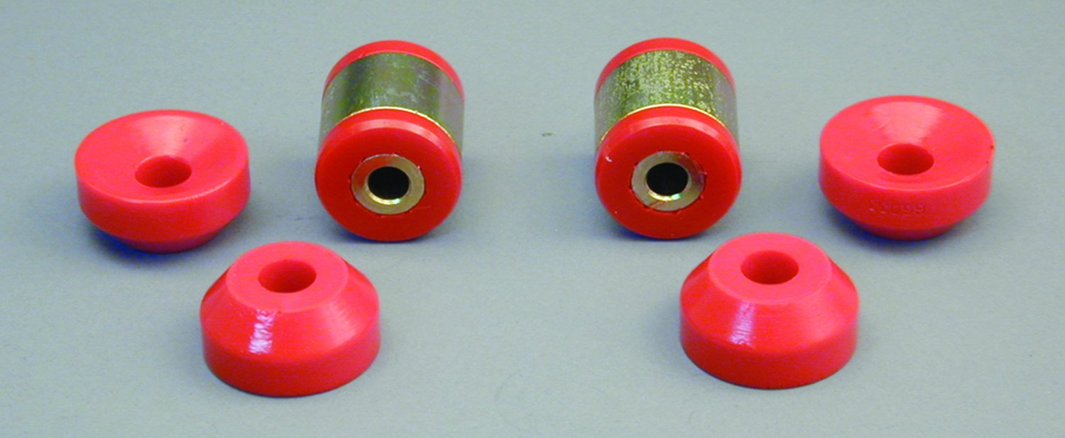 Prothane 8-904 Red Rear Shock Bushing Kit