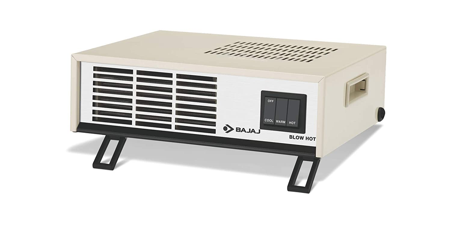 Bajaj Blow Hot 2000 Watts Fan Forced Circulation Room Heater