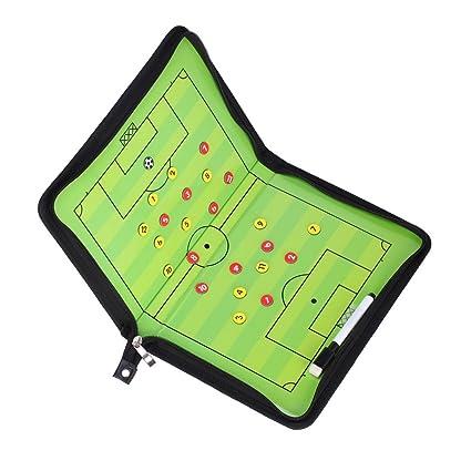 GREENSTORE - Tabla magnética para Entrenadores de fútbol (54 x 32 cm)