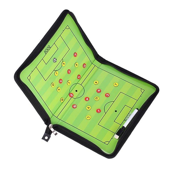 Warooma - Tablero magnético Profesional de fútbol con 2 ...