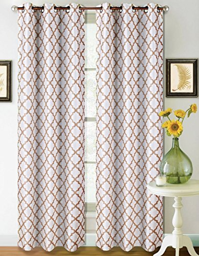 GorgeousHomeLinen Geometric Pattern Insulated Blackout product image