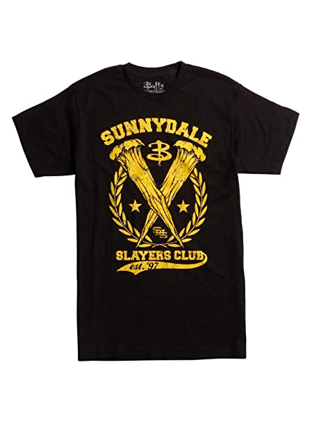 e1a6d378fef24 Buffy The Vampire Slayer Sunnydale Slayers Club T-Shirt: Amazon.ca ...