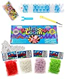 Arts & Crafts : The Original Rainbow Loom Bands Value Pack, Complete Set Crafting Kit includes Loom, Metal Hook, Mini Rainbow Loom, 3000 Multi-Color Rubber Bands Refill, 120 Large Clips For Bracelets & Keychains