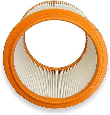 Opinión sobre Filtro lavable kallefornia K704 para aspiradora Nilfisk Aero 20-01 20-21 25-11 25-21 lavable a aspirador filtro redondo