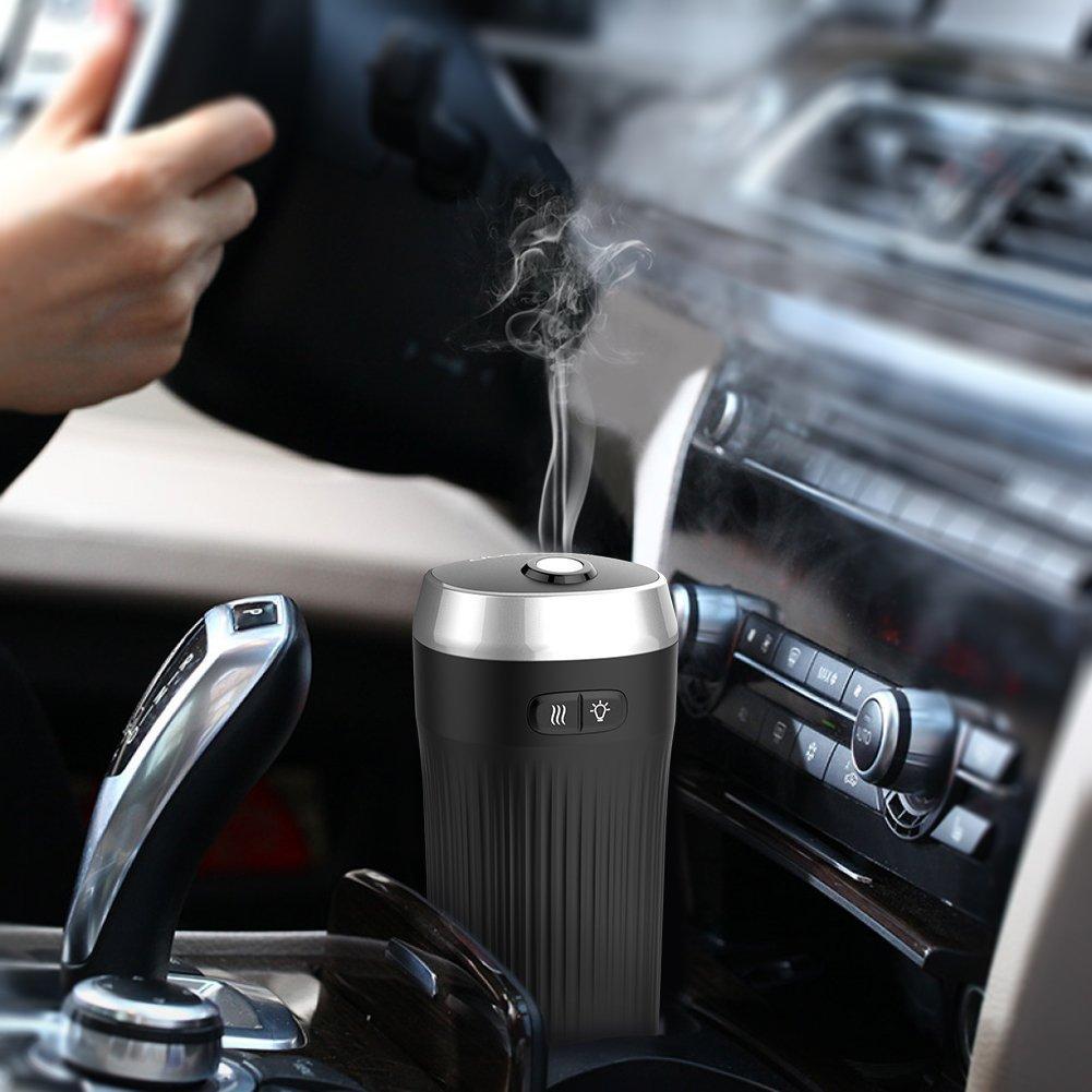 Amazon.com : Vyaime USB Car Essential Oil Diffuser Air