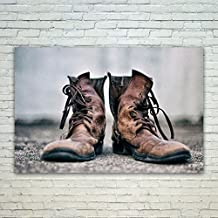 Westlake Art - Poster Print Wall Art - Boot Shoe - Modern Picture Photography Home Decor Office Birthday Gift - Unframed - 18x12in (od9 246)